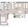 Essen/Kochen/Wohnen 40,67 m² Schlafen 14,41 m² Bad 9,39 m2 Zimmer 13,10 m² WC 1,73 m² Eingang/Flur 8,15 m² Hauswirtschaftsraum (HWR) 2,84 m² Zwischensumme Wfl. 90,29 m² Balkon 8,10 m²/ 2  4,05 m² Gesamt Wfl.  94,34 m2 Keller 5,13 m² zzgl. Anteil an Gemeinschaftsräumen