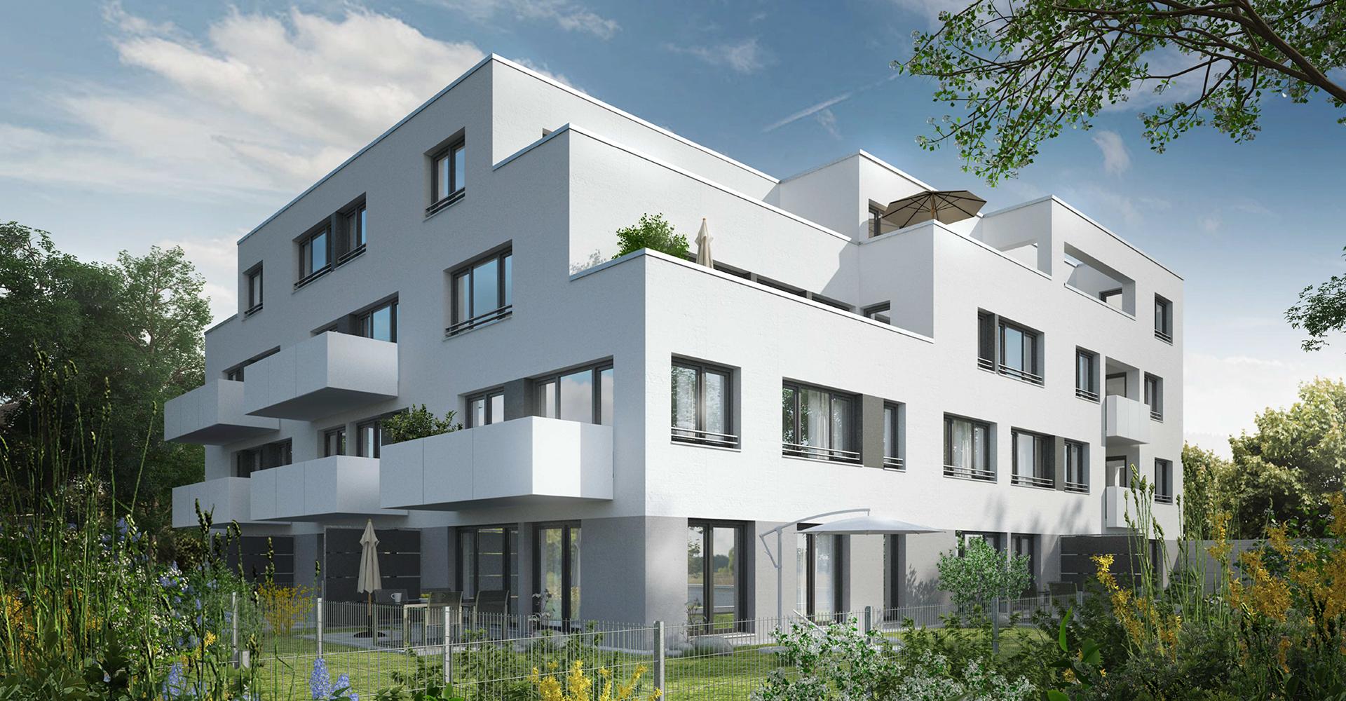 Visualisierung: Eigentumswohnungen in Nürnberg Thon