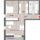 Erlangen Röttenbacher Straße 2-Zimmer-Wohnung mit Dachterrasse WE A09