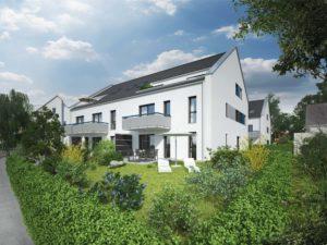 Visualisierung unserer Eigentumswohnungen in Erlangen Dechsendorf