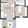 Erlangen Röttenbacher Straße 2-Zimmer-Wohnung mit Terrasse WE B03