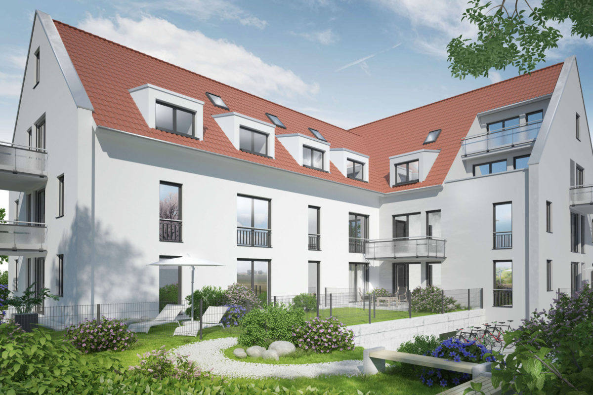 Eigentumswohnungen in Erlangen - Visualisierung