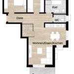 Eigentumswohnungen Fürth Rohnhof - Wohnung 03
