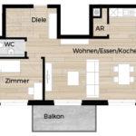 Eigentumswohnungen Fürth Rohnhof - Wohnung 01