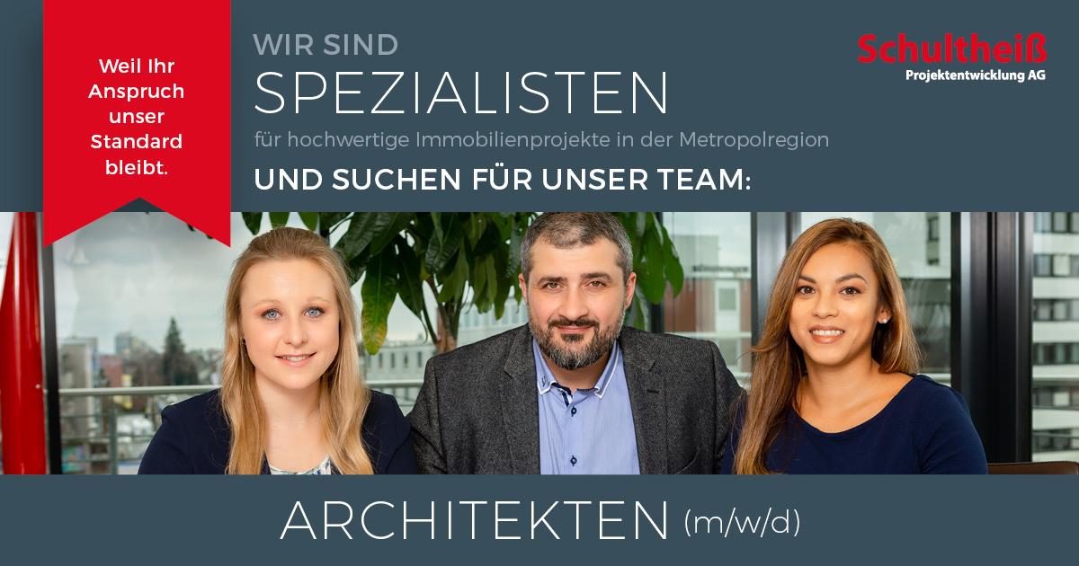Job architekt m w d in n rnberg bei der schulthei for Architekt alternative jobs